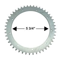 D1, D3 47T Rear Sprocket UK Made