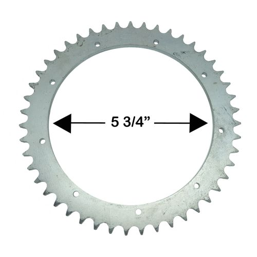 D1, D3 47T Rear Sprocket