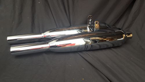 6T, Tiger 100, 110 1960-on Chrome Exhaust Silencers